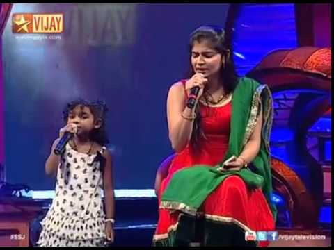 Super Singer JuniorMainave Mainave by SSJ02 Angeline and ChinmayiYouTube
