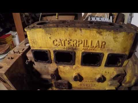 Caterpillar D2 #5J1113 Diesel Engine Disassembly - Day 1