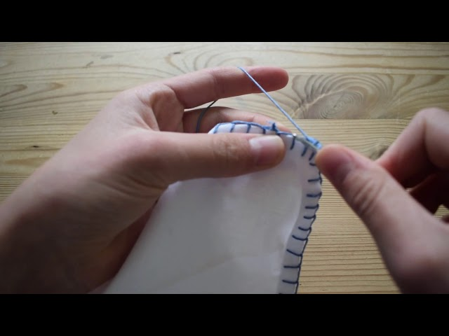 How to Make a Vintage/Victorian Crochet Lace Edged Handkerchief