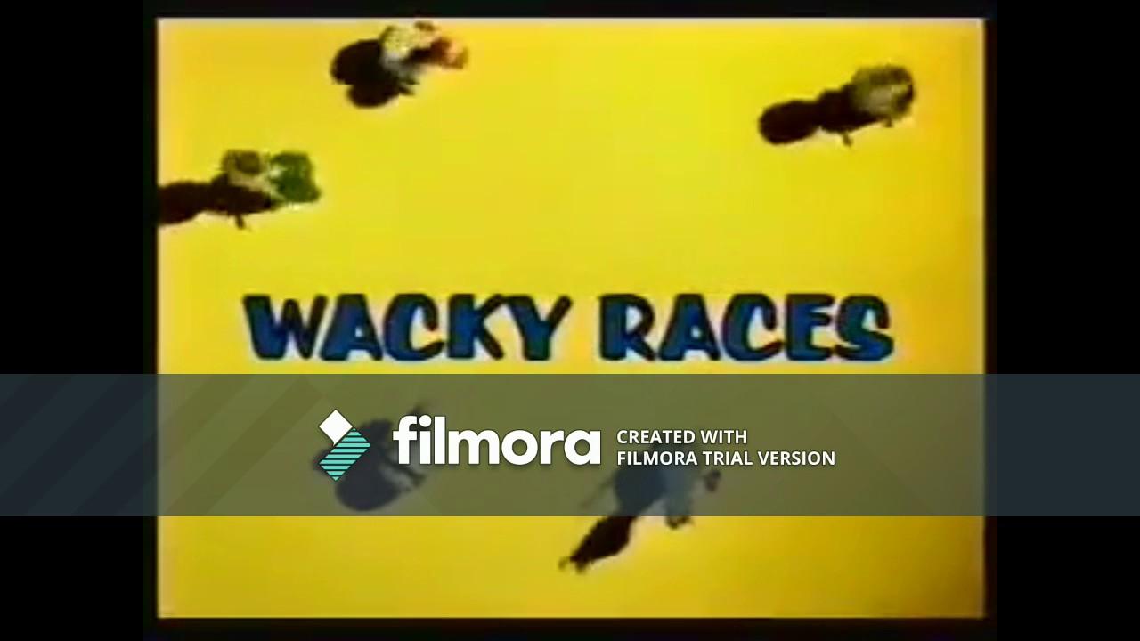 "(VERY RARE) Boomerang (LA): Wacky Races ""Coming Up Next"