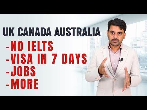 UK CANADA AUSTRALIA | No IELTS | JOBS | Mauritius | International Student Visa | Study Abroad 2020