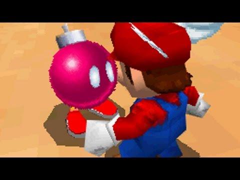 Super Mario 64 DS Walkthrough - Part 13 - Shifting Sand Land