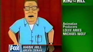 King Of The Hill ''King Of The Hollywood Hills'' Promo (1998)