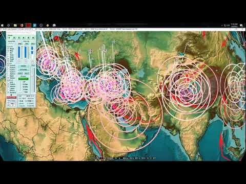5/08/2018 -- West Coast California Earthquake activity increase -- Pacific large EQ threat this week