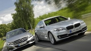 bmw 535i vs mercedes e 400