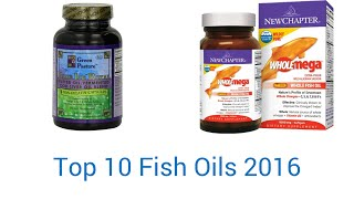 10 Best Fish Oils 2016