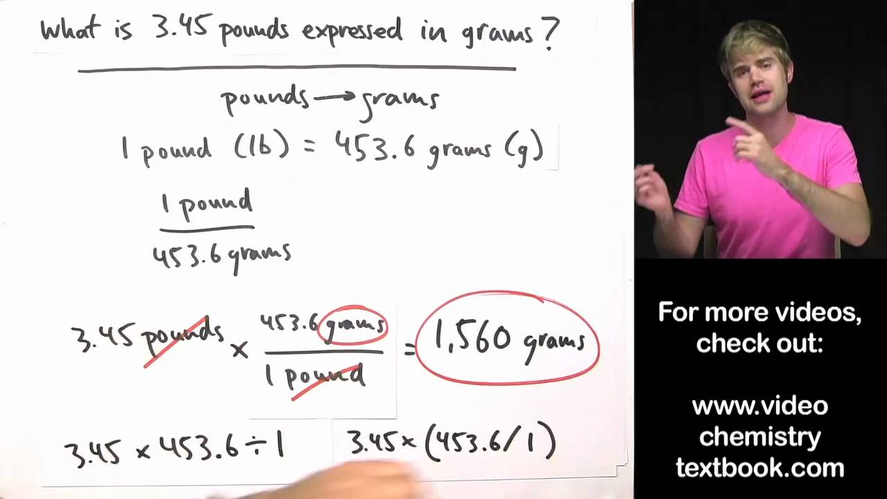 Converting Units with Conversion Factors - YouTube