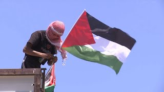 GLOBALink | Palestinians in West Bank mark 73rd anniversary of Nakba Day