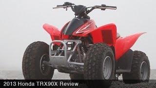 MotoUSA Kids ATV Shootout - 2013 Honda TRX 90