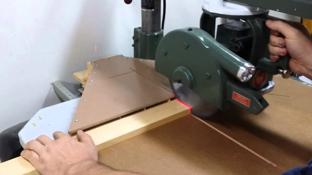 Radial Arm Dust Collection   YouTube
