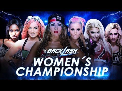 WWE Backlash (2016) Six-Pack Elimination Challenge for SmackDown Women