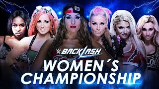 WWE Backlash (2016) Six-Pack Elimination Challenge for SmackDown Women's Championship