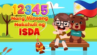 12345 Once I Caught A Fish Alive in Filipino | Philippines Kids Nursery Rhymes | Awiting Pambata