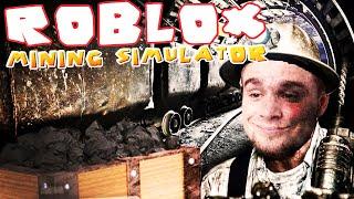 ROBLOX [#24] - ZOSTAŁEM KOPACZEM | Mining Simulator [#1]