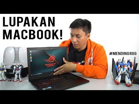 Seperti Bukan Laptop Gaming - Review ASUS RoG Zephyrus M GM501