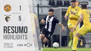 Highlights   Resumo: CD Nacional 1-5 Portimonense (Liga 20/21 #25)