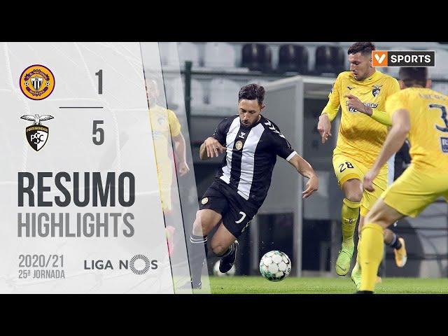 Highlights | Resumo: CD Nacional 1-5 Portimonense (Liga 20/21 #25)