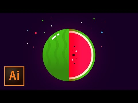 Create a Vector Watermelon Logo Mark – Illustrator Tutorial