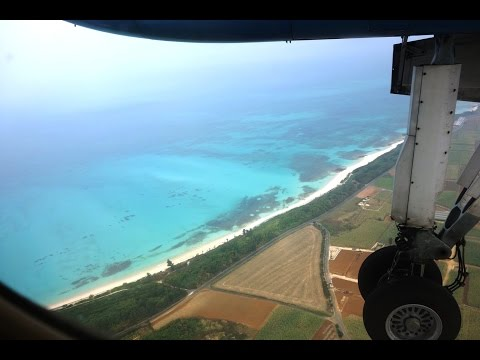 Flying from Naha to Miyako Island, Okinawa, October 22, 2014