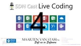SDN Cast - Office Development Live Coding with Maarten van Stam - E4 New Machine thumbnail