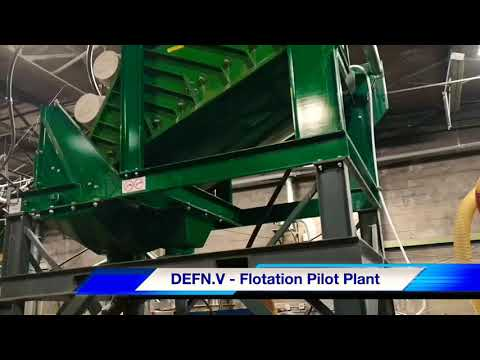 Pilot Flotation Plant - DEFN TSX.V
