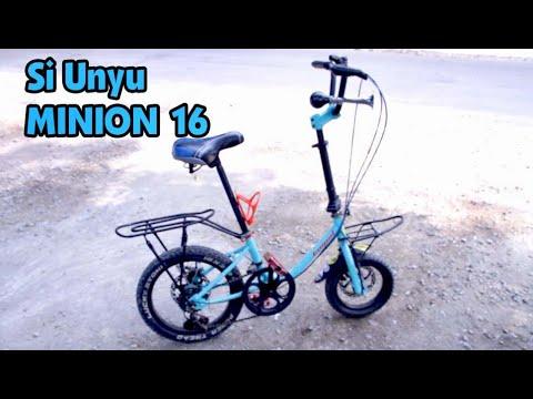 Si Unyu Sepeda Minion Frame 16 Youtube