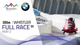Whistler | BMW IBSF World Championships 2019 - 4-Man Bobsleigh Heat 2 | IBSF Official