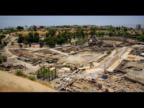 Israel: Roman city in Beit Shean