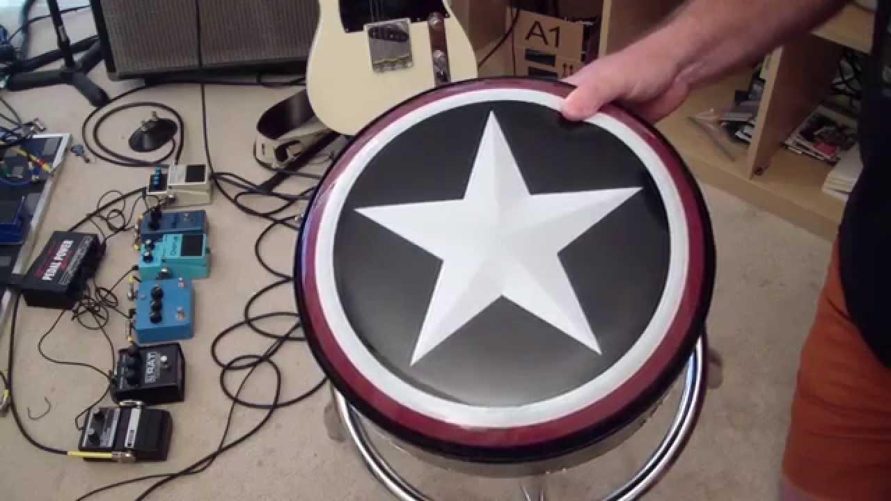 Do It Yourself Musician 5 Roadrunner Guitar Stool Youtube