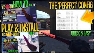 How to Play & Install The 'Perfect' CS:GO Config (+ Config Download Link)