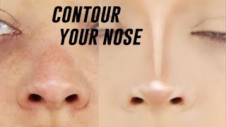 One of Lucy Garland's most viewed videos: HOW TO CONTOUR YOUR NOSE