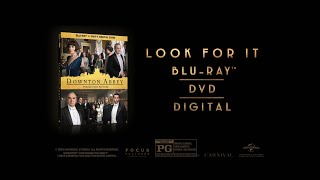 Own Downton Abbey the film on digital, Blu-ray™ & DVD