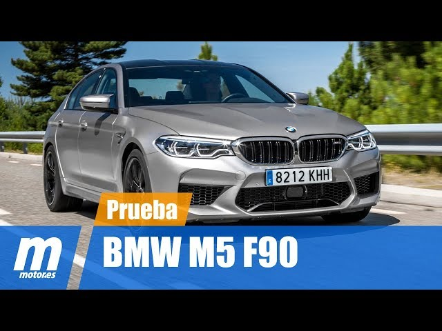 BMW M5 F90 | Prueba / Testdrive / Review en Español HD | Motor.es