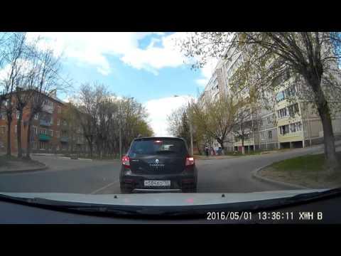 ДТП. Лихач велосипедист, попал под колеса авто...