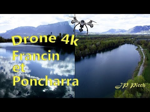 Lacs de Pontcharra + Francin en drone 4K