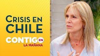 Lily Pérez pidió a medios diferenciar entre delincuentes y manifestantes - Contigo en La Mañana