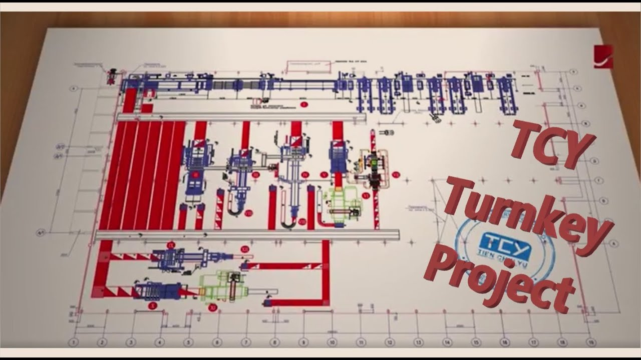 TCY Flexo + Corrugator Plant Planing service - High Efficiency Plant