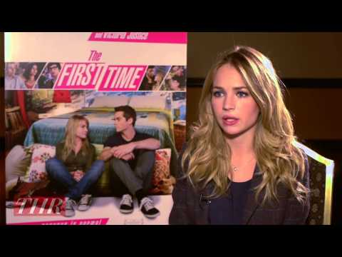 Britt Robertson on the Sex s in 'The First Time'