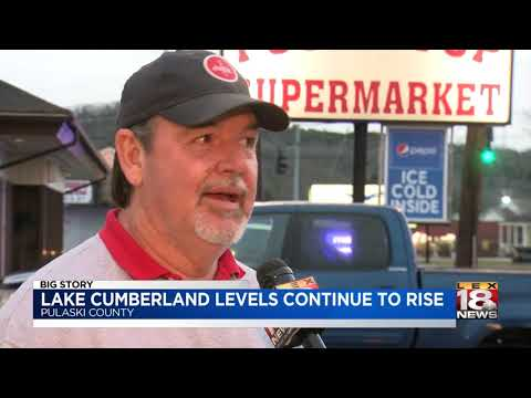 Lake Cumberland Levels Continue To Rise