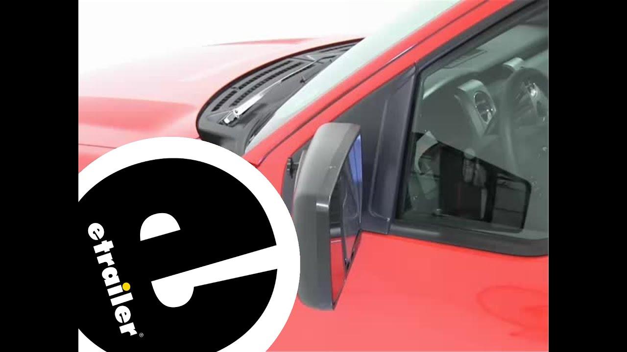 Cipa custom towing mirrors installation 2012 ford f 150 etrailer com