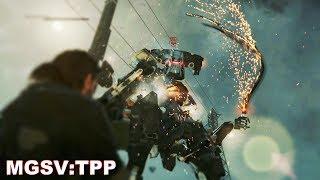 MGS5:TPP サヘラントロプス [全タスク / ノーダメージ / Extreme] ~潜入は変わった~