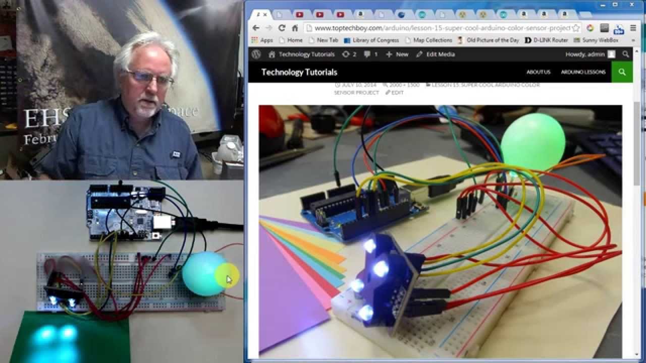 Arduino Color Sensor Project Totorial Youtube The We Will Use In This Circuit Is A Tcs3200