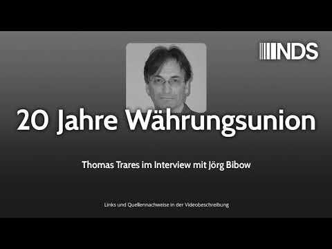 20 Jahre Währungsunion | Thomas Trares im Interview mit Jörg Bibow | NachDenkSeiten-Podcast