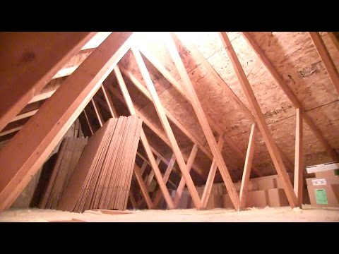How to install an Attic Light - YouTube Wiring Diagram Finished Attic on