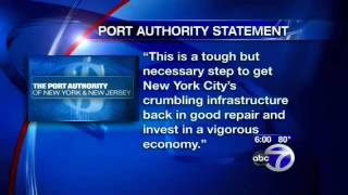 New York New Jersey Port Authority plans $4 toll hike next month