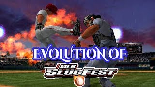 Graphical Evolution of MLB Slugfest (2002-2006)