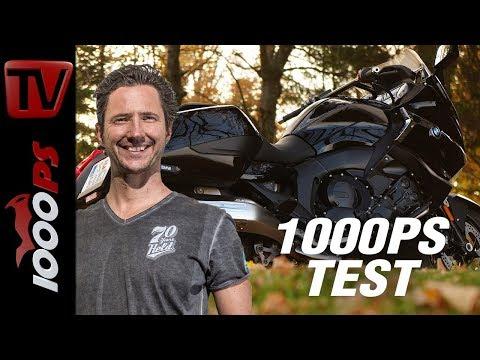 BMW K 1600 B Test 2017 - Erfahrung und Sound auf der Landstraße