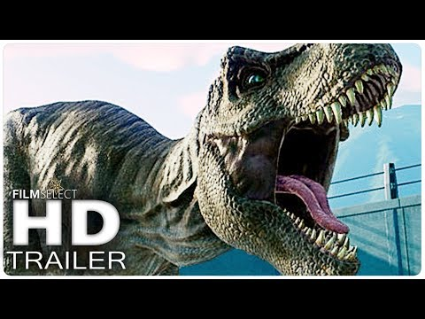 Download Youtube: JURASSIC WORLD 2: Fallen Kingdom Trailer (Extended) 2018