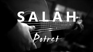 Download Mp3 Salah - Melly Goeslaw / Potret   Acoustic Karaoke
