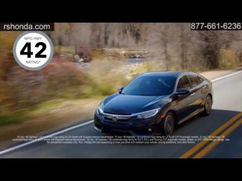 New 2017 Honda Civic Sedan Russell U0026 Smith Honda Houston TX Missouri City TX